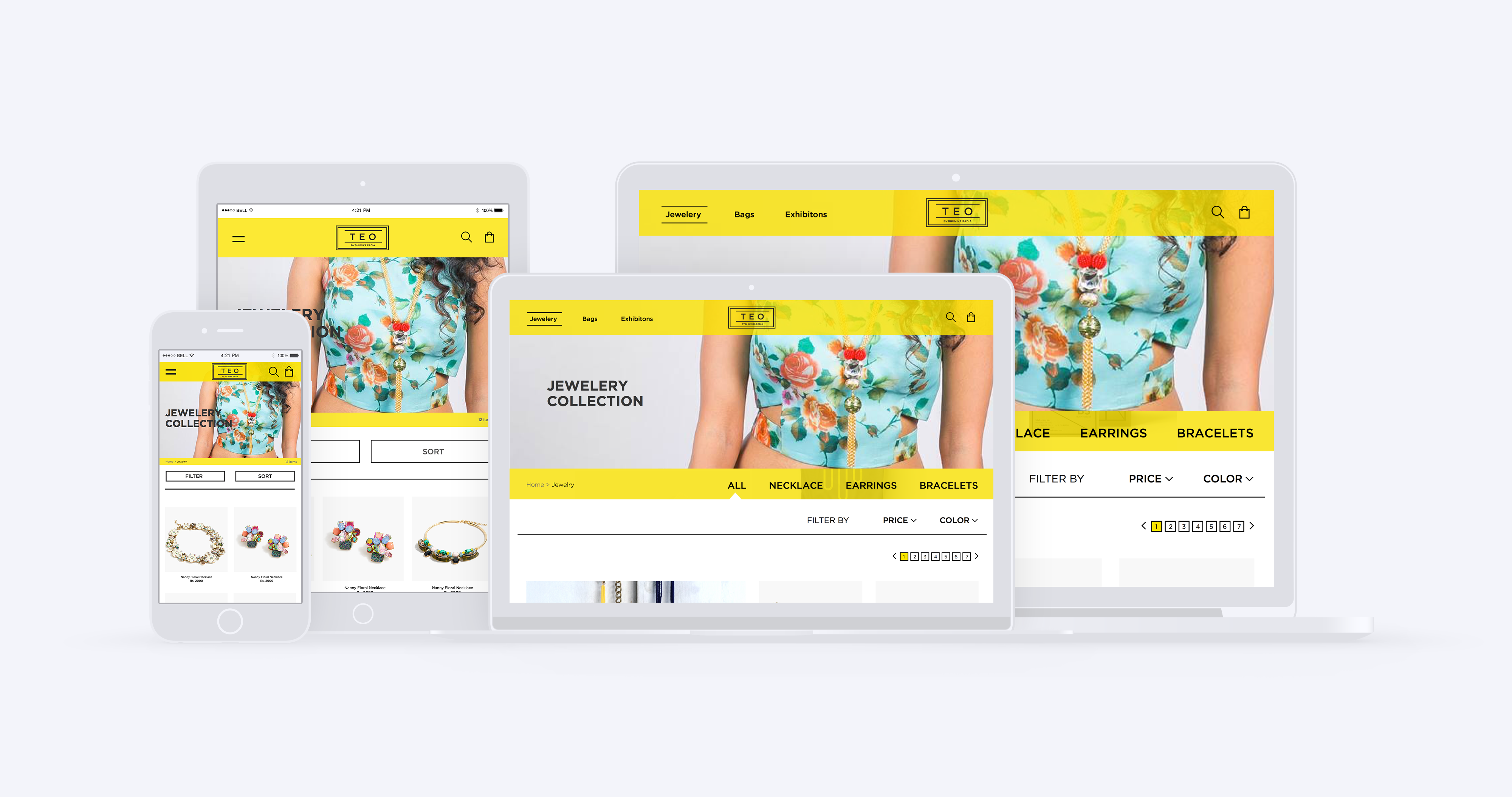 Teo Responsive Website